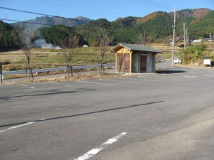 駐車場(坂本棚田)