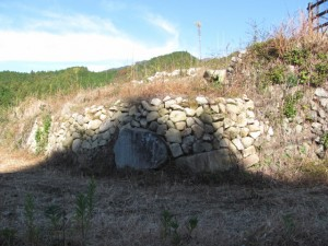 第5回坂本棚田石積み体験の現場