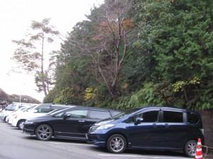 湯快リゾートの駐車スペース(鳥羽市小浜町)