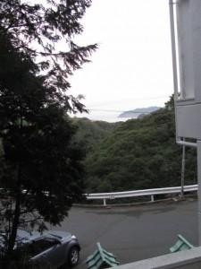 伊良子清白詩碑前からの眺望(鳥羽市小浜町)