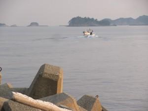 小浜漁港からの眺望(鳥羽市)