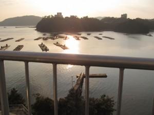 鳥羽グランドホテルからの眺望