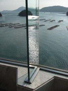 鳥羽グランドホテル館内からの眺望