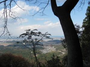 十二町~十三町の途中の風景(朝熊岳道)