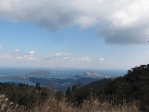 朝熊ヶ岳山頂からの眺望