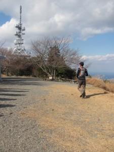 トレイルランナー(朝熊ヶ岳山頂)