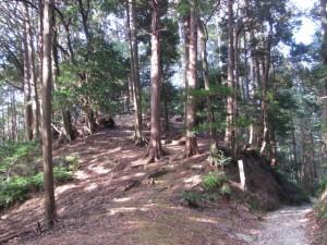 四町付近(朝熊岳道)