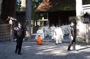 月次祭 奉幣の儀(外宮)