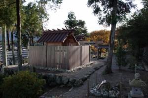 氏神遥拝所、鹿海神社、山の神社(伊勢市鹿海町)