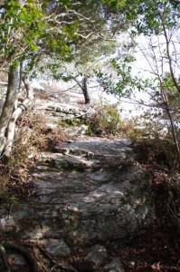 獅子岩(獅子ヶ岳手前)