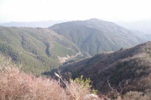 獅子岩(獅子ヶ岳手前)からの眺望