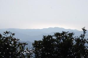 獅子ヶ岳山頂からの眺望