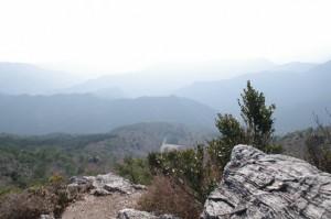 獅子岩からの眺望
