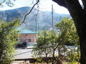 小川郷神社(度会町中之郷)からの景色