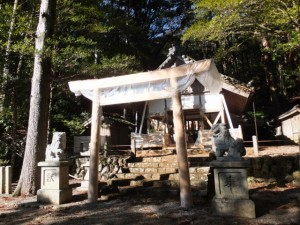 小川郷神社(度会町中之郷)
