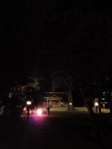 大晦日の月夜見宮