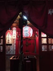 大晦日の須原稲荷神社(須原大社)