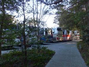 せんぐう館 大型バス駐車場(外宮)