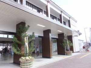 伊勢市駅南口(JR側)