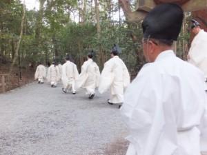 元始祭 荒祭宮(内宮)