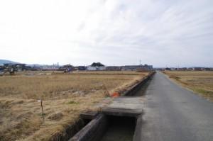 河原神社、松屋製菓付近