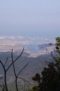 朝熊岳道からの風景