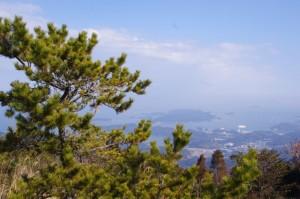 朝熊ヶ岳山頂からの風景