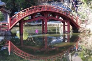連珠橋(金剛證寺)