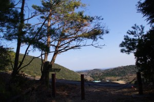 鳥羽レストパーク付近(丸山道)