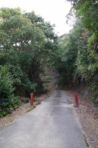 丸山道(鳥羽レストパーク~丸山庫蔵寺)