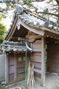 山門(丸興山庫蔵寺)