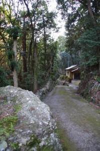 丸山道(彦瀧大明神付近)