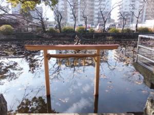 朧ヶ池(船江上社)
