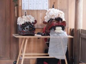 御頭(箕曲中松原神社)