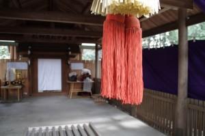 御頭神事(箕曲中松原神社)