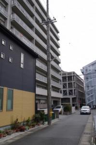 御頭神事(箕曲中松原神社)、宮崎さん前駐車場付近