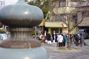 御頭神事(箕曲中松原神社)、小田橋・橋詰公園