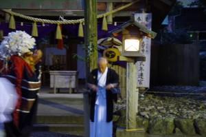 御頭神事 剣の舞(箕曲中松原神社)