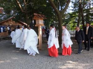 楠部町萬歳楽 祭典(櫲樟尾神社)