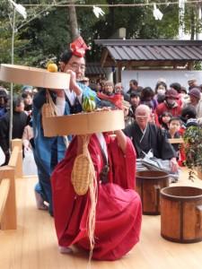 楠部町萬歳楽 豊年踊り(櫲樟尾神社)