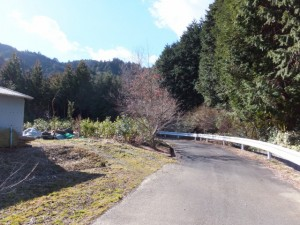 的山公園駐車場~鴨神社
