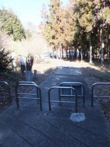 的山公園駐車場付近