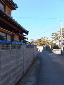 火の見櫓から村松神社へ(伊勢市村松町)