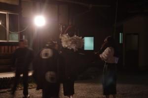 海蔵寺での獅子舞(下久具の御頭神事)
