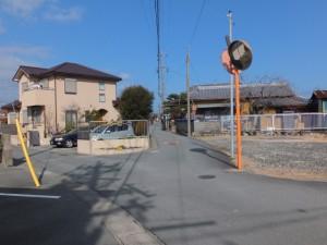 山の神への路地(伊勢市村松町)