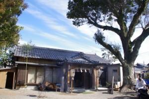 宇氣比神社社務所(村松町の御頭神事)