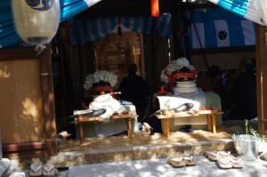 神事祭典(村松町の御頭神事)
