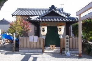 「年酒の式」が始まる時の御頭神社(村松町の御頭神事)