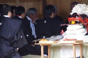 年酒の式(村松町の御頭神事)