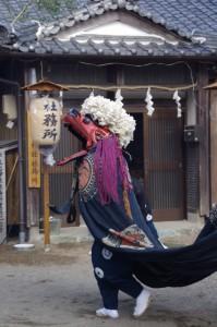 「宮の舞」(村松町の御頭神事)